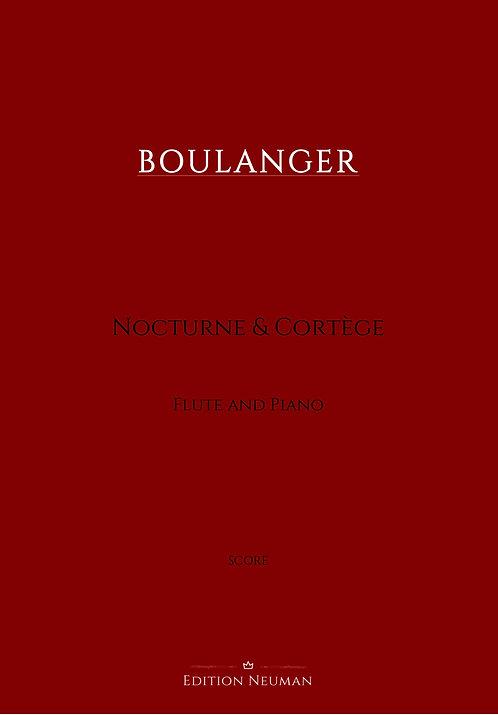 Boulanger Nocturne & Cortége Score