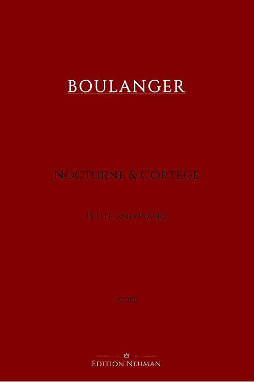 SCORE Boulanger Nocturne & Cortége