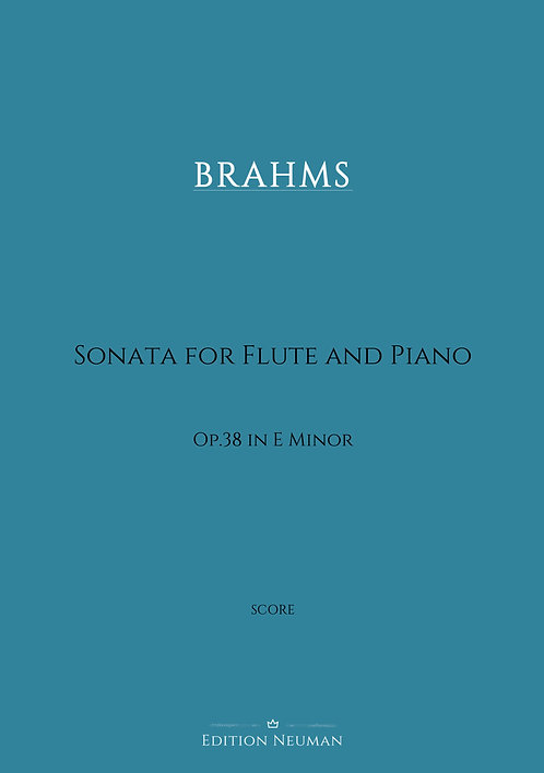 Brahms Sonata op.38 Score