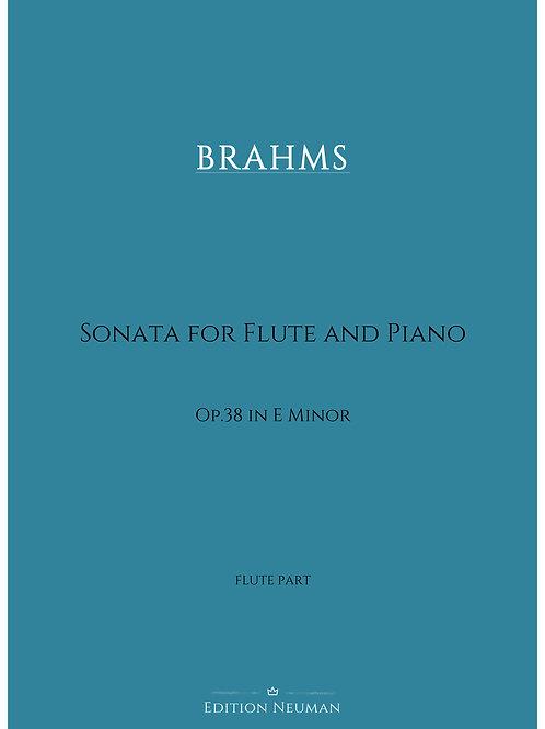 Flute Part BRAHMS Sonata op.38