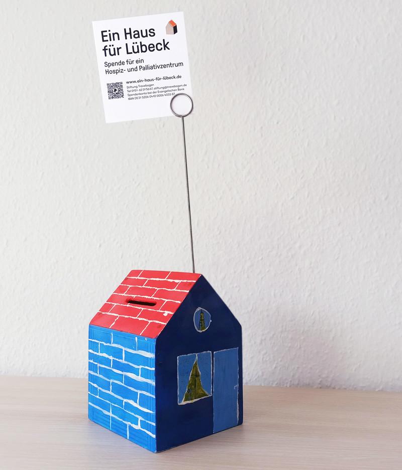 Spendenhaus für die Kampagne Ein Haus für Lübeck