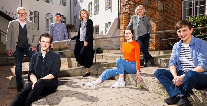 Gewinner:innen des Wettbewerbs der Musikhochschule Lübeck