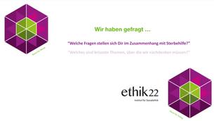 Antworten aus dem Netzwerk «ethik22» zur Sterbehilfe