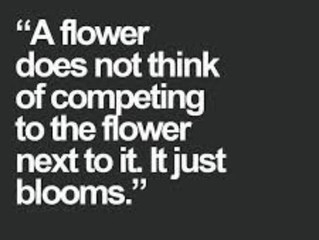 Compliment, Don't Compete