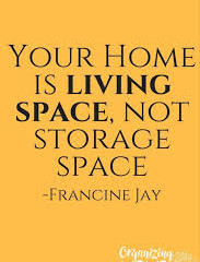 Living Space vs. Storage Space