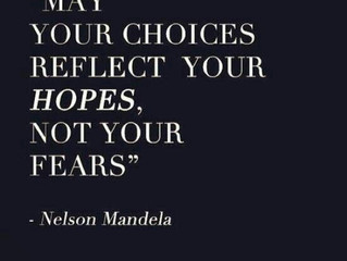 Let Your Choices Reflect Your Hopes