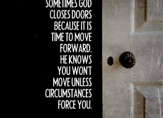 Is God Closing Doors in Your Life?