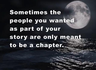 Only a Chapter in Your Life