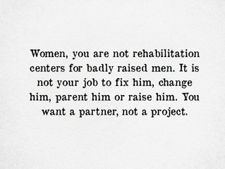 Find a Partner, Not a Project