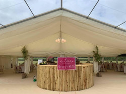Private Grounds Home Marquee  Wedding at Wodbridge