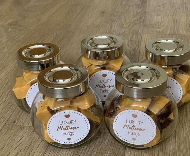 Mini Fudge Jars