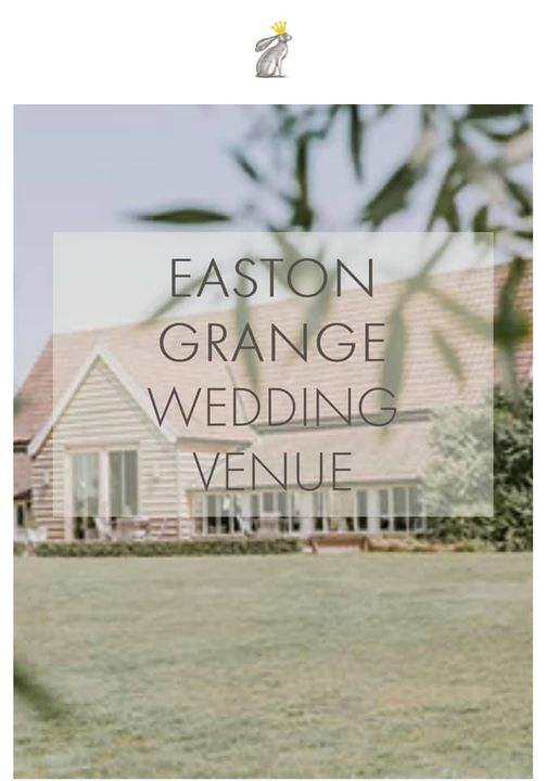 EASTON GRANGE WEDDING VENUE