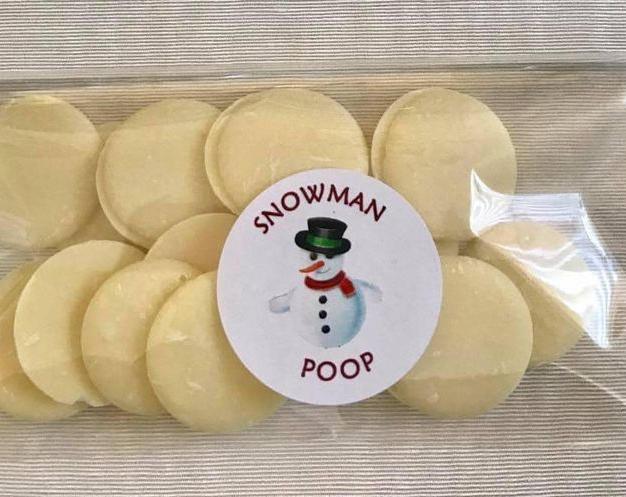 Snowman Poop Pouches  £1.50