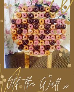 Bespoke Rustic Donut Wall