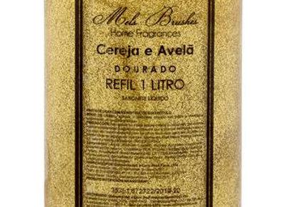 Refil Sabonete Liquido Dourado Cereja & Avelã 1L