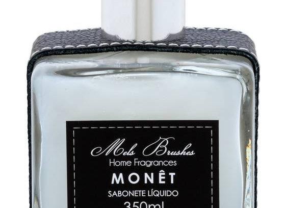 Sabonete Luxo Monet Couro  350 ml