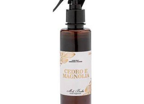 Home Spray Ambientes e Tecidos  Cedro e Magnolia 200 ml