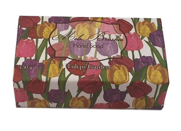Sabonete Barra Tulips Garden 150g