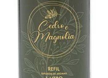 Refil Difusor de Aromas Cedro e Magnolia 1L