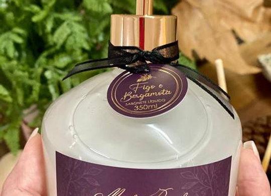Sabonete Luxo Figo e Bergamota 350 ml