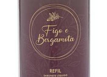 Refil Sabonete Liquido Figo e Bergamota Perolado 1L