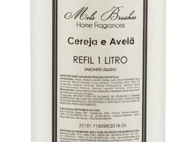 Refil Sabonete Liquido Cereja e avela Perolado 1L