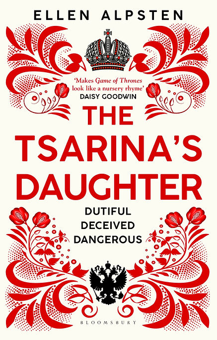 The Tsarina's Daughter - high res cover.