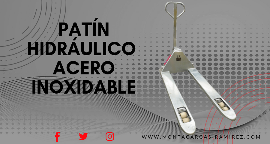 patin acero inoxidable