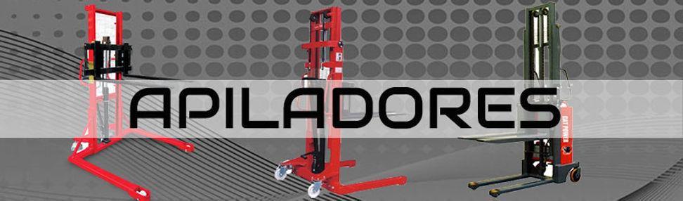 Apiladores estibadores hidraulios manuales y eléctricos