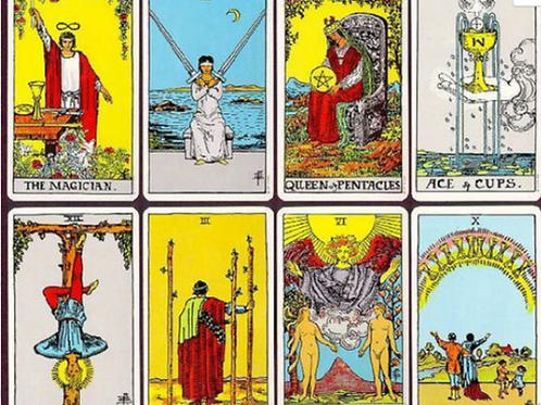 Old Fashioned Tarot Reading 2-3 Questions