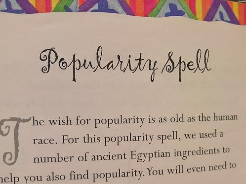 Popularity Attraction Spell Extreme