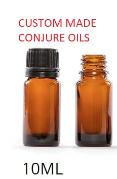 CONJURE OILS CUSTOM MADE SHIPPING INCLUDED