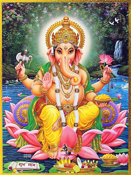Lord Ganesha Extreme Remove My Obstacles