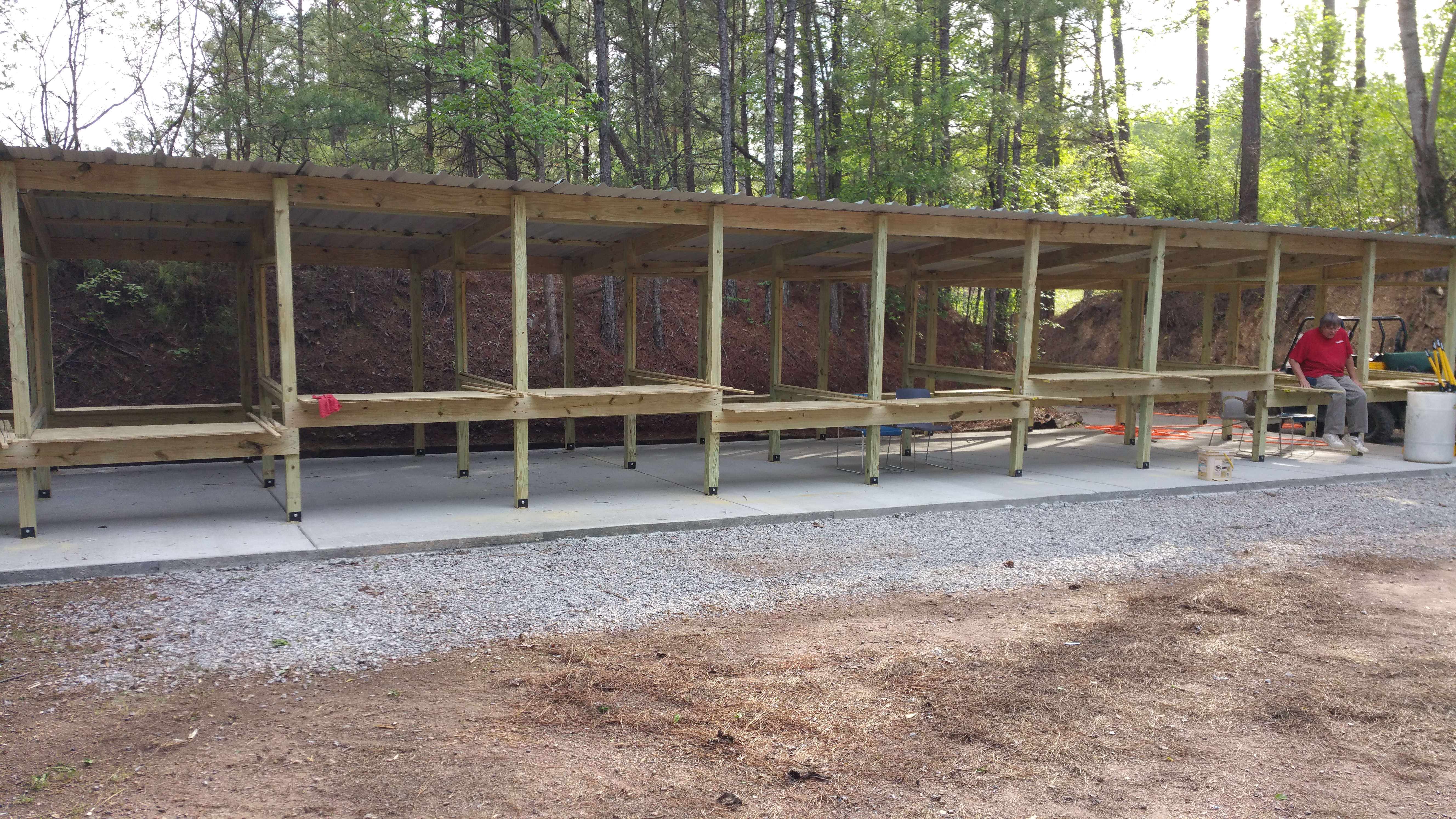 Rimfire range construction
