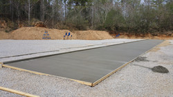 Slab's done