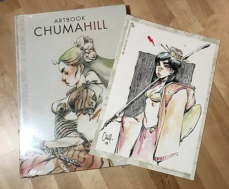 ARTBOOK CHUMAHILL + ORIGINAL DINA4