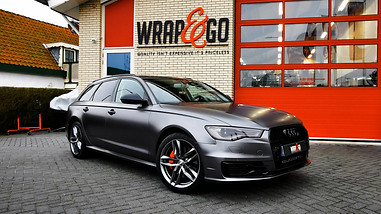 Audi A6 avant 3M Satin Dark Grey