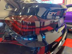 79 - BMW carbon interieur, lampen tinten