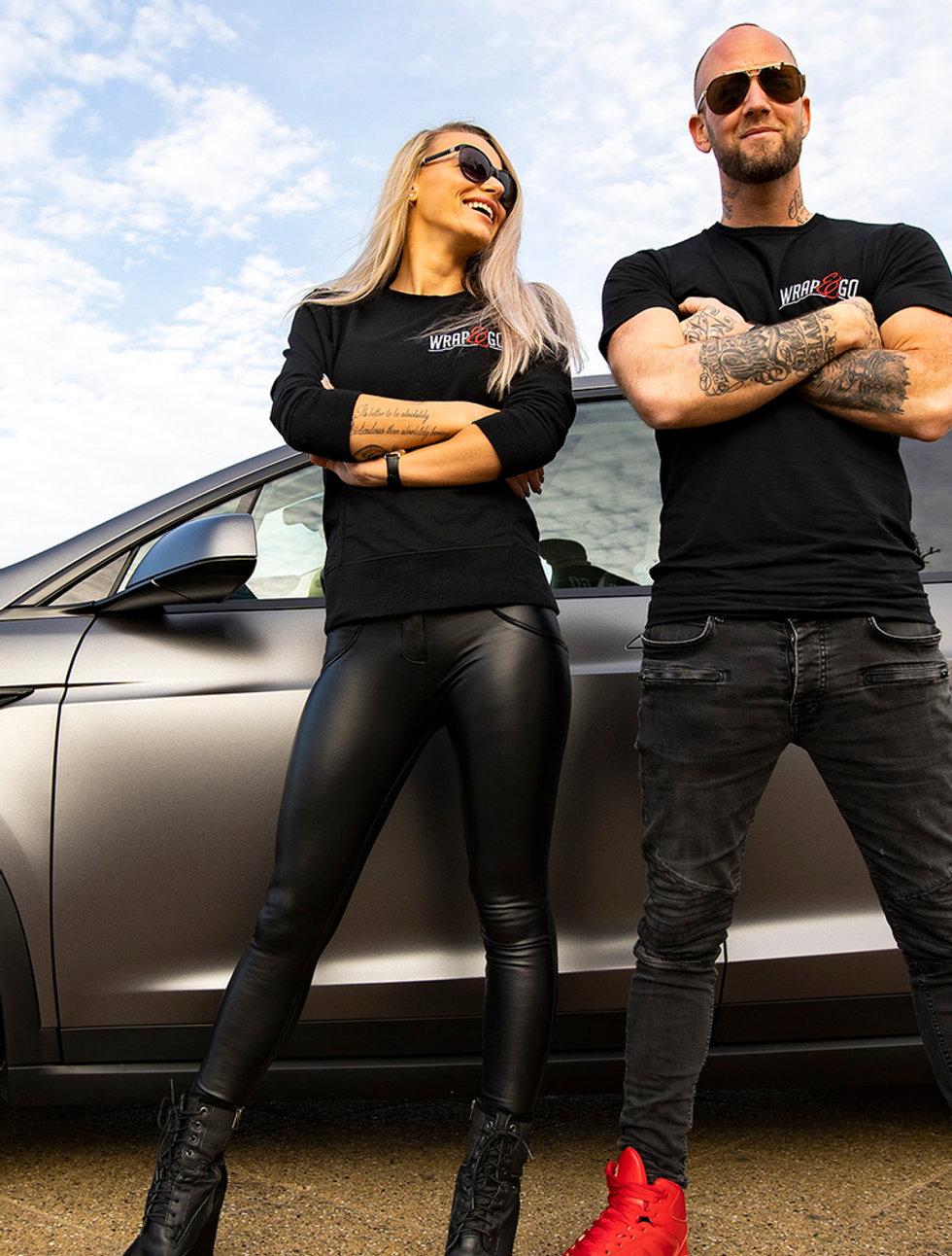 Wrap&Go Tesla Michella & Martin