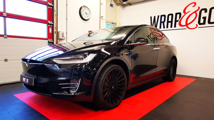 101 - BEFORE Tesla X 3M Matte Metallic B