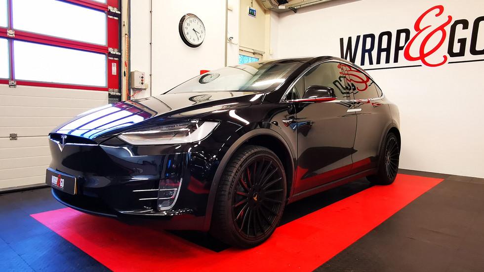 101 - BEFORE Tesla X 3M Matte Metallic B
