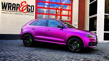 Audi Q3 - Teckwrap Concord Grape