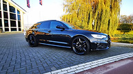 Audi A6 Chrome Delete Gloss Black