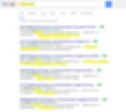 Auszug Googleergebnissse Tellows Schall