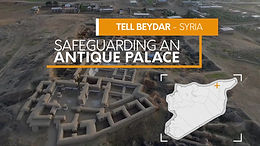 World heritage day: protecting an antique palace in North East Syria