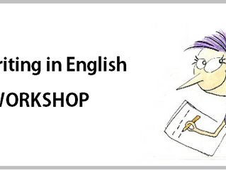 Writing in English - WORKSHOP gratuito