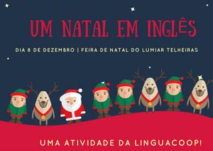Um Natal em Inglês | Atividade LinguaCoop