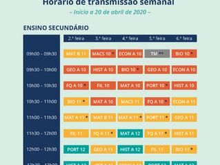 RTP Madeira dá aulas ao Secundário