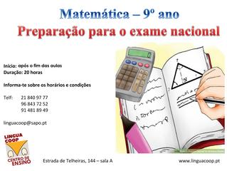 IAVE - MATEMÁTICA 9º ANO