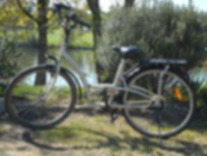 Location de Vélo à La Halte D'entrammes.